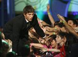 Ashton Kutcher - 21st Annual Kids' Choice Awards - Show, Los Angeles, March 29, 2008