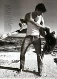 "Daria Werbowy Vogue Hommes Summer/2008, ph. Inez Van Lamsweerde & Vinoodh Matadin Foto 137 (Дарья Вербова Vogue Summer/2008 людей "", тел.  Фото 137)"