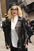 Rita Ora at The Late Show With David Letterman in New York City 31st October x17