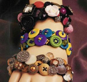 th 16950 button bracelets 122 441lo - Geri Dönüşüm Fikirleri