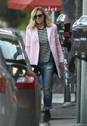 Kristen Bell out & about in Los Angeles 02/07/14