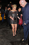 Jessica Simpson leggy in short tight dress attends the afterparty for Ashley Simpson-Wentz's Broadway Debut in Chicago at Inc. Lounge on November 30, 2009 in New York