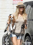 Julianne Hough | Taking her Dog to the Groomers in Beverly Hills | March 19 | 4 leggy pics
