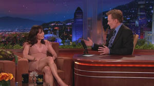 Robin Tunney - The Tonight Show with Conan O'Brien (2010)