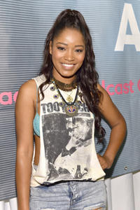 Keke Palmer day 2 of the Radio Broadcast Center during the BET Awards in LA 06-28-2014