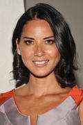 Olivia Munn - Carolina Herrera Spring 2012 Fashion Show in New York, September 12, 2011